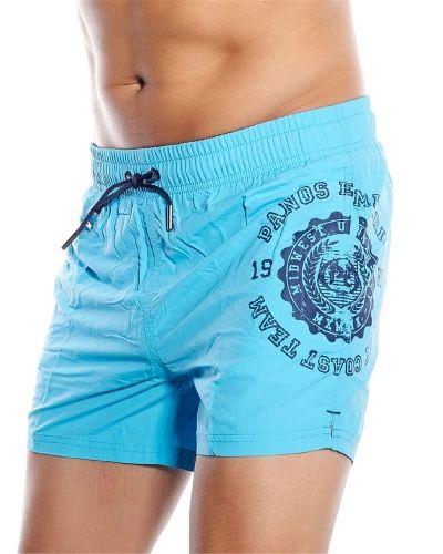 Till herr från Panos Emporio, en blå shorts.