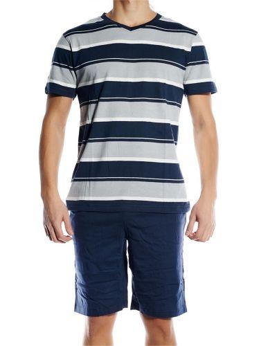 Pierre Hector Pierre Hector Jersey Short Pyjamas Set Navy