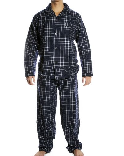 Pierre Hector Pierre Hector PH Pyjamas Set Check Navy