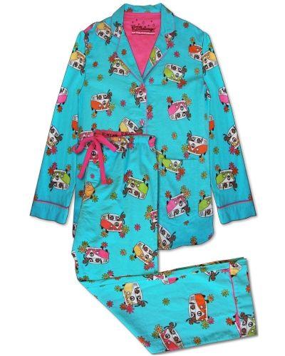 PJ Salvage Pj Salvage Monkey Bus Pj Pajama