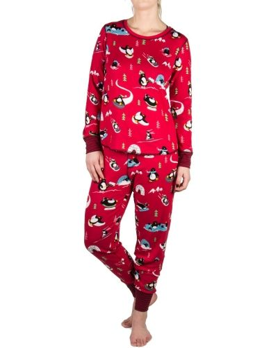 PJ Salvage Pj Salvage Penguin Run Pyjama Set