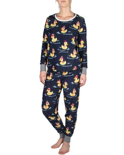 PJ Salvage Pj Salvage Winter Ducks Pyjama Set