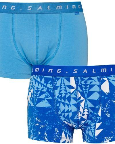 Till herr från Salming, en orange boxerkalsong.