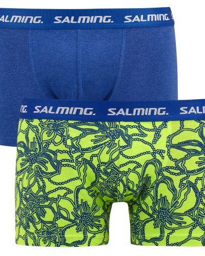 Till herr från Salming, en blå boxerkalsong.