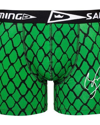 Grön boxerkalsong från Salming till herr.