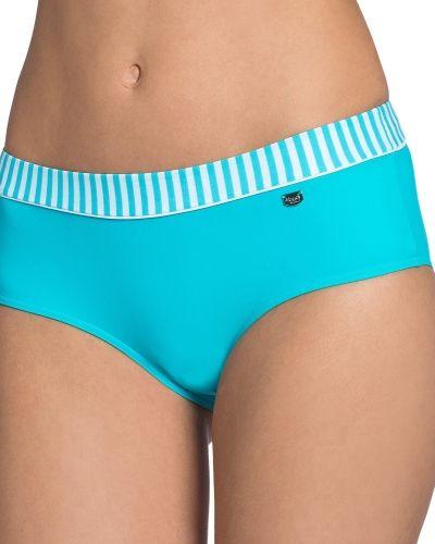 Sloggi Swim Turquoise Stripes Midi Sloggi bikini till tjejer.