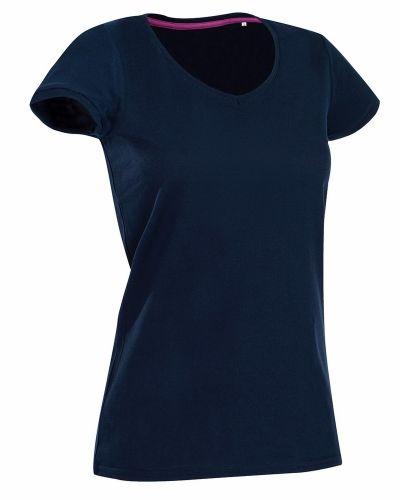 Svart t-shirts från Stedman till dam.
