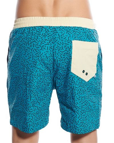 Sweet Poolyo Swim Shorts Memphis Doodles Sweet shorts till herr.
