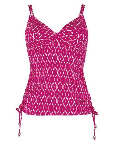 Till tjejer från Triumph, en flerfärgad bikini.