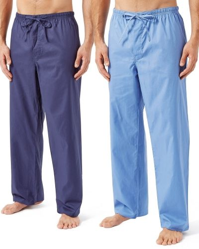 Wolsey Wolsey Soft Cotton Pyjama Trousers 2-pack