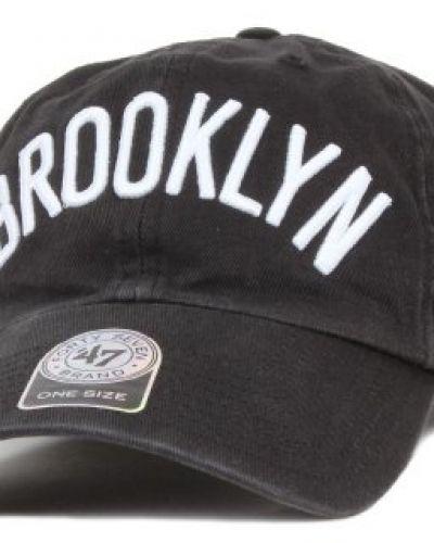 47 Brand 47 Brand - Brooklyn Nets Cleanup Wordmark Adjustable Black