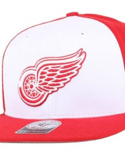 47 Brand - Detroit Red Wings Sure Shot Accent Red Snapback 47 Brand keps till unisex/Ospec..
