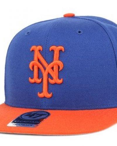 47 Brand - NY Mets Sure Shot 2 Tone Blue/Orange Snapback 47 Brand keps till unisex/Ospec..