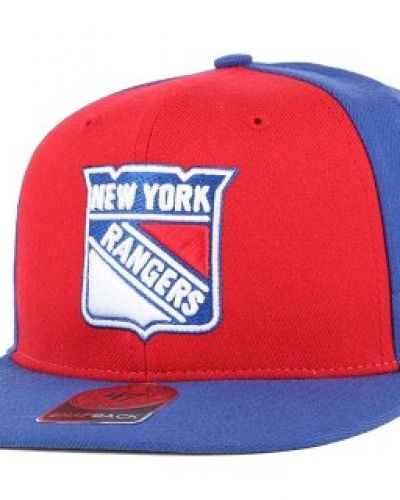 47 Brand - NY Rangers Sure Shot Accent Royal Snapback 47 Brand keps till unisex/Ospec..