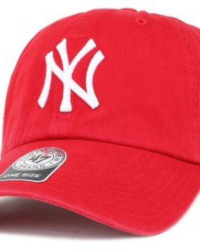 Keps 47 Brand - NY Yankees Clean Up Red Adjustable från 47 Brand