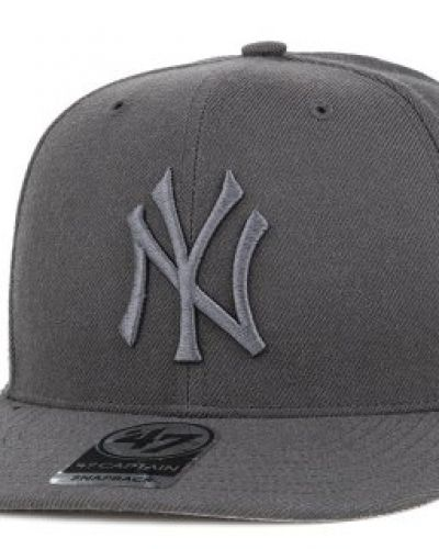 47 Brand 47 Brand - NY Yankees No Shot Captain Charcoal/Charcoal Snapback
