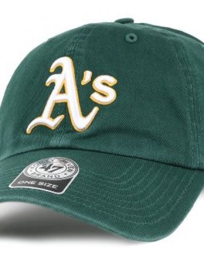 47 Brand - Oakland Athletics Clean Up Dark Green Adjustable 47 Brand keps till unisex/Ospec..