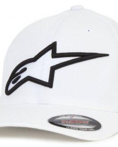 Keps Alpinestars - Logo Astar Flexfit White/Black (S/M) från Alpinestars