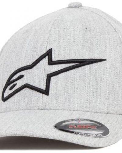 Keps Alpinestars - Logo Astar Light Heather Gray/Black Flexfit (S/M) från Alpinestars