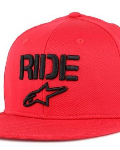 Keps Alpinestars - Ride Flat Red Fitted (S/M) från Alpinestars