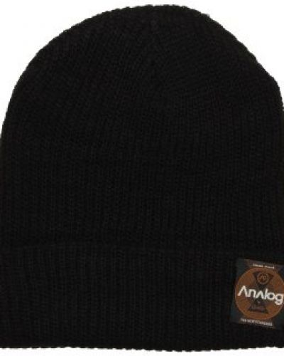 Analog Analog - Blowout Slouch Black Beanie