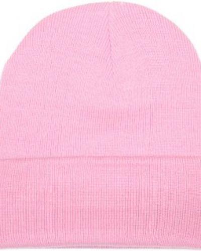 Basic Beanie - Knitted Beanie Classic Pink Basic Beanie mössa till unisex/Ospec..