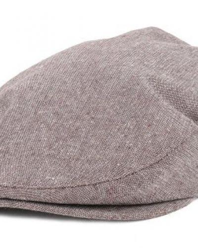 Brixton - Barrel Shale Brown Flat Cap (S) Brixton keps till unisex/Ospec..