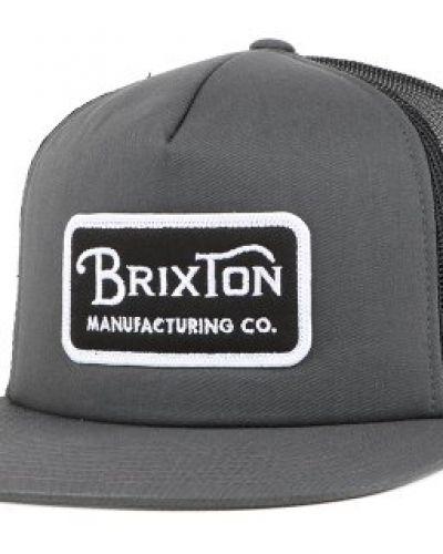finest selection 6583e d030d Brixton - Brixton - Grade Mesh Charcoal Black Snapback