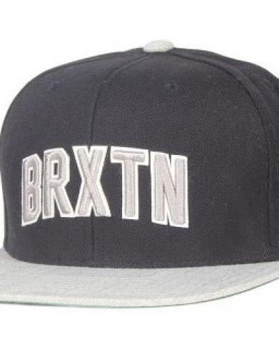 Brixton Brixton - Hamilton Black/Light Heather Grey Snapback