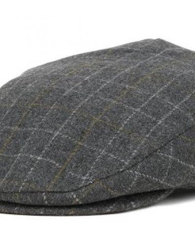 Brixton - Hooligan Grey Plaid Flap Cap (S) Brixton keps till unisex/Ospec..