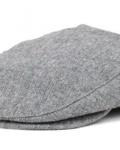 Brixton - Hooligan Heather Grey Flat Cap (S) Brixton keps till unisex/Ospec..