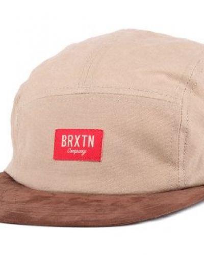 Brixton - Hoover Tan/Brown 5-Panel Brixton keps till unisex/Ospec..
