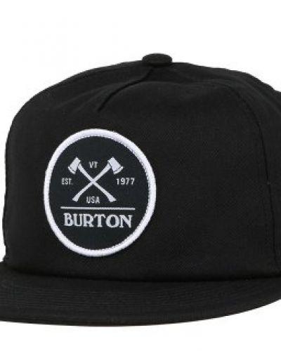 Burton - Woodsman True Black Snapback Burton keps till unisex/Ospec..
