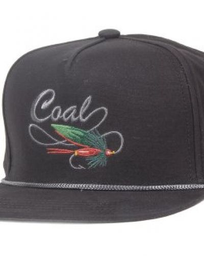 Keps Coal - The Angler Black Snapback från Coal