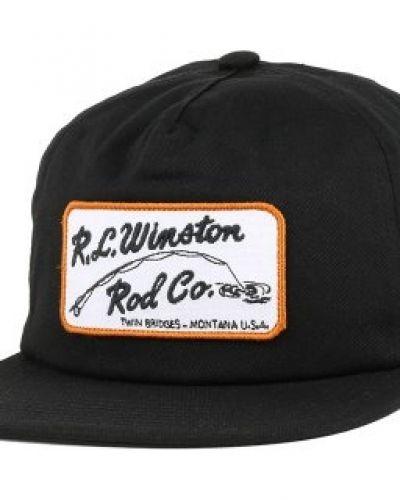 Keps Coal - The Winston Black Strapback från Coal