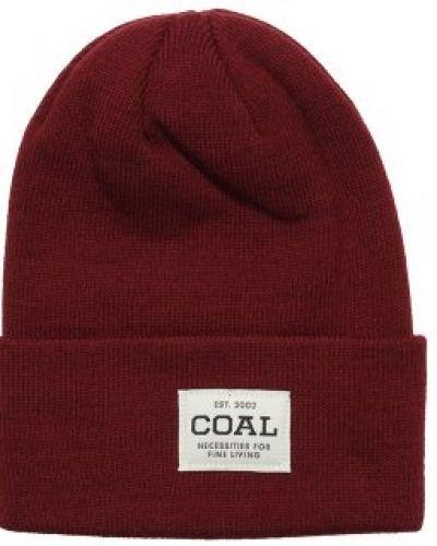 Coal Coal - Uniform Burgundy Beanie