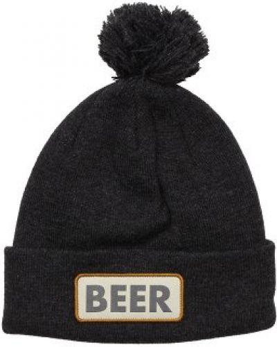 Mössa Coal - Vice Beer Heather Black Beanie från Coal