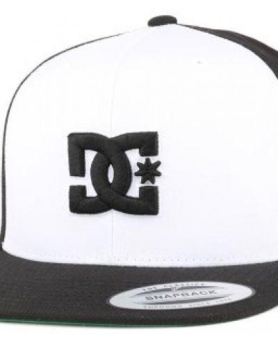 DC - Snappy White/Black Snapback DC keps till unisex/Ospec..