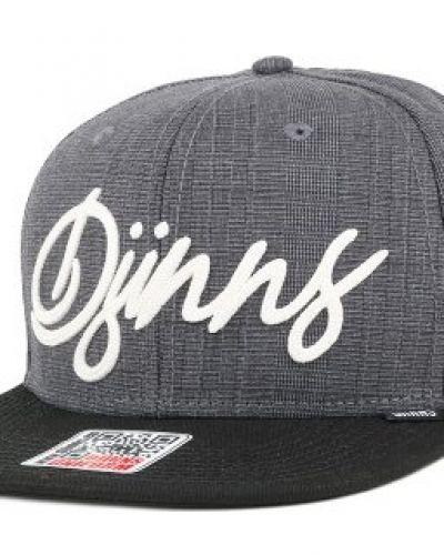 Djinns - Glencheck 2.0 Dark Grey Strapback Djinn's keps till unisex/Ospec..