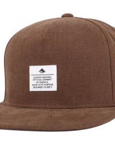 Keps Emerica - Standard Issue Brown Snapback från Emerica