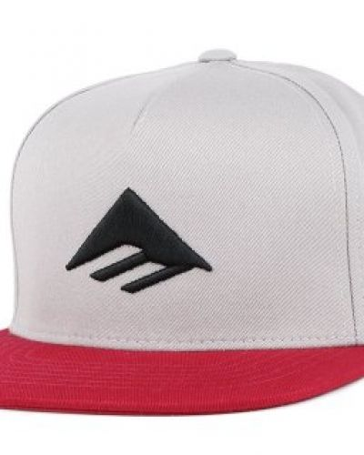 Emerica Emerica - Triangle Grey/Red Snapback