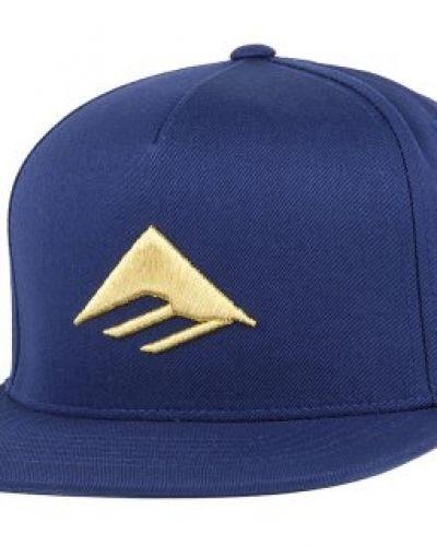 Emerica - Triangle Navy/Gold Snapback Emerica keps till unisex/Ospec..