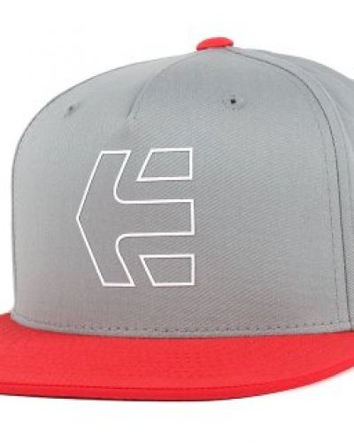 Keps Etnies - Icon 7 Grey/Red Snapback från Etnies