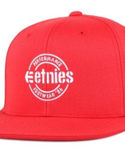 Etnies - Logo Red Snapback Etnies keps till unisex/Ospec..