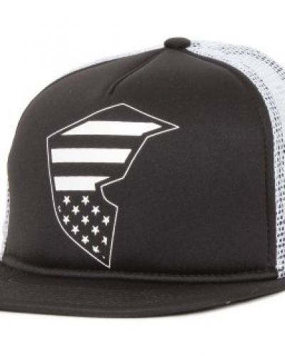 Famous Famous - Flag Badge Snapback Black/White