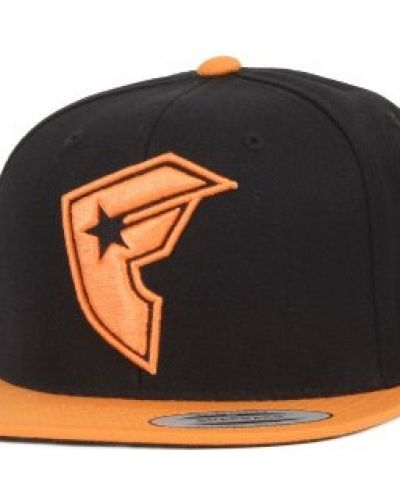 Famous Famous - Official Boh 2-Tone Snapback Black/Orange