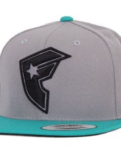 Famous Famous - Official Boh 2-Tone Snapback Grey/Teal