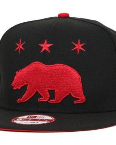 Famous S&S Famous S&S - Grizzly Star Black/Cardinal 9Fifty Snapback