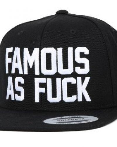 Famous S&S - So Famous Black Snapback Famous S&S keps till unisex/Ospec..
