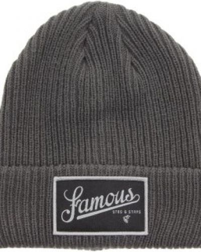 Famous Famous - Union Textured Beanie Charcoal